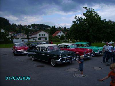 Tri-Chevy Reise über die Alpen
