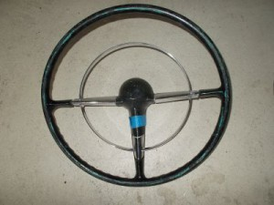 55 56 Bel Air steering wheel